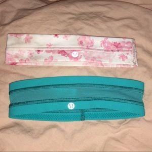 LuluLemonHeadband pair